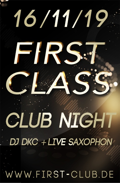 First Class Club Night - 16.11.19